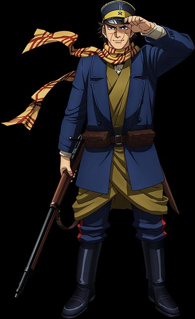 Chikahiro Kobayashi es la voz del protagonista, Saichi Sugimoto.