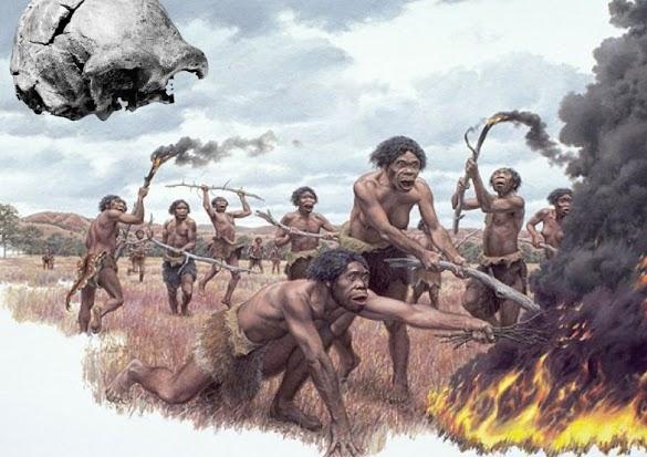 Manusia Purba di Indonesia, Asia, dan Eropa
