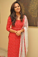 Anusuya in Red at Kalamandir Foundation 7th anniversary Celebrations ~  Actress Galleries 042.JPG