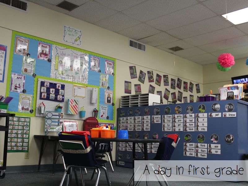 A Day In First Grade Classroom Pictures