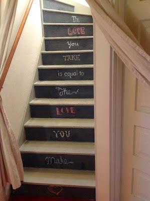 Cara dekorasi tangga