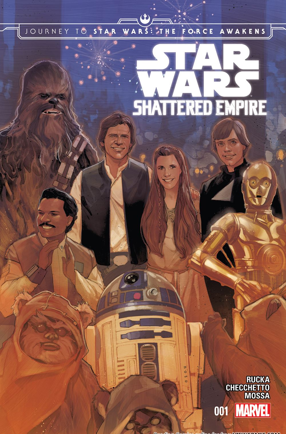 e30567730 Journey to Star Wars – The Force Awakens – Shattered Empire 01 (of 04)  (2015)