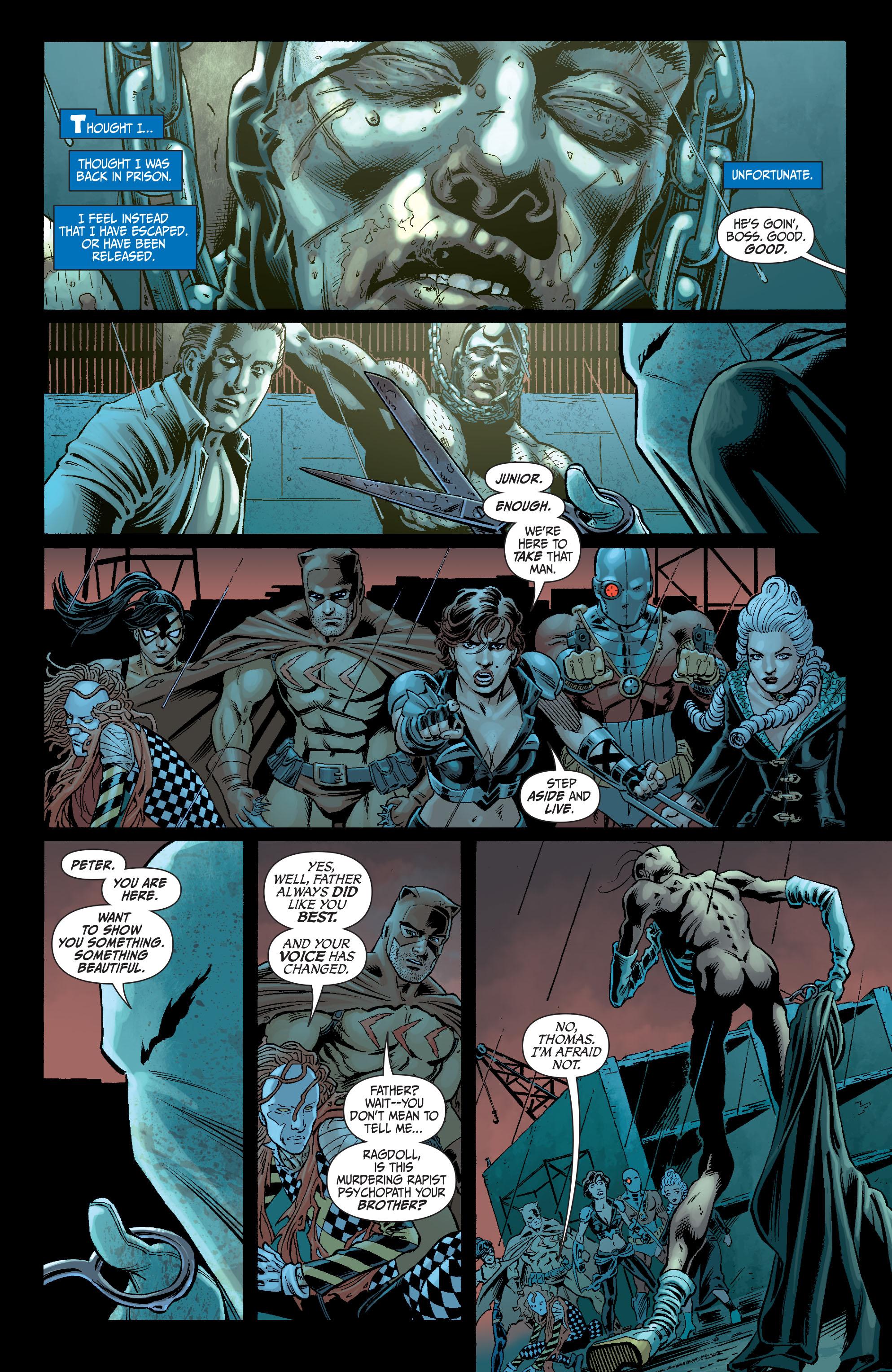 Read online Secret Six (2008) comic -  Issue #5 - 22