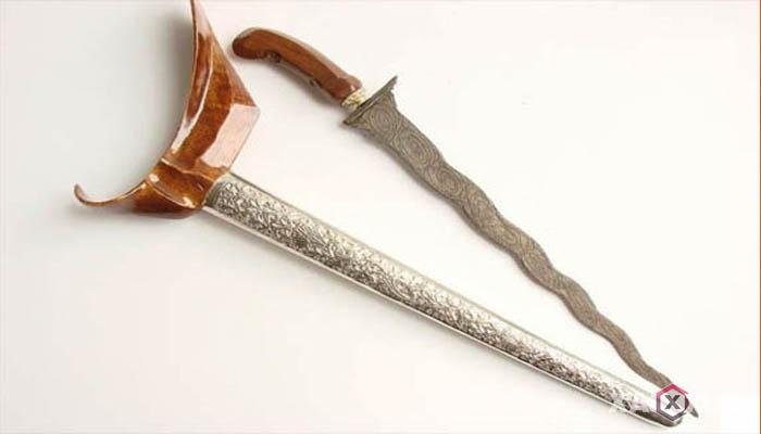 Senjata tradisional Indonesia - Senjata tradisional Lampung (Terapang)