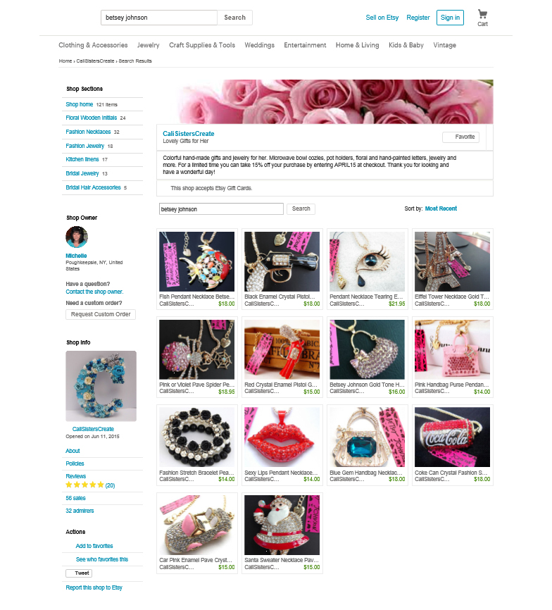 Fake Shaming Etsy and Its Resellers -- LDW Calls Out: Resell new ...