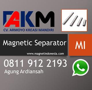Standar Kekuatan Magnet Separator safety Food