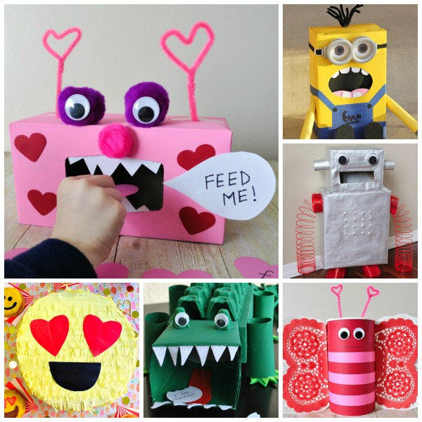 50 VALENTINE BOX IDEAS FOR KIDS-  these are awesome!!!