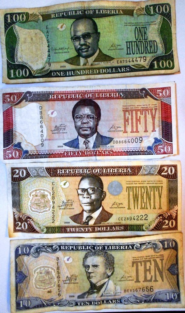 Liberia Has Two National Currencies Liberian Dollars And Us 72 Ld Equals 1 The 180 Shown Here