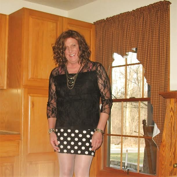 daily sissy photo daily sissy photo a little black lace