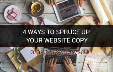 4 Ways to Spruce Up Your Website Copy: eAskme