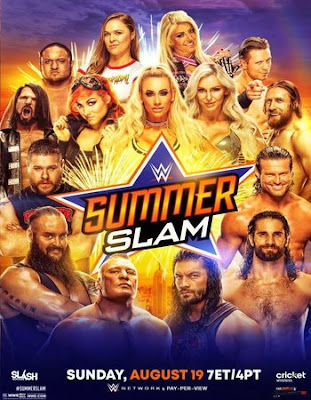 WWE Summer Slam 2018 Custom HD Dual Latino