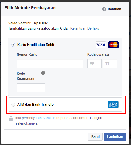 Cara Promosi Facebook Ads