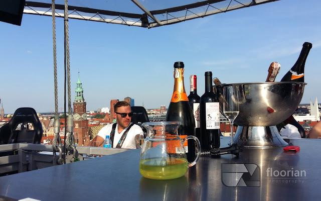 Podniebna restauracja Dinner In The Sky na Placu Solnym we Wrocławiu