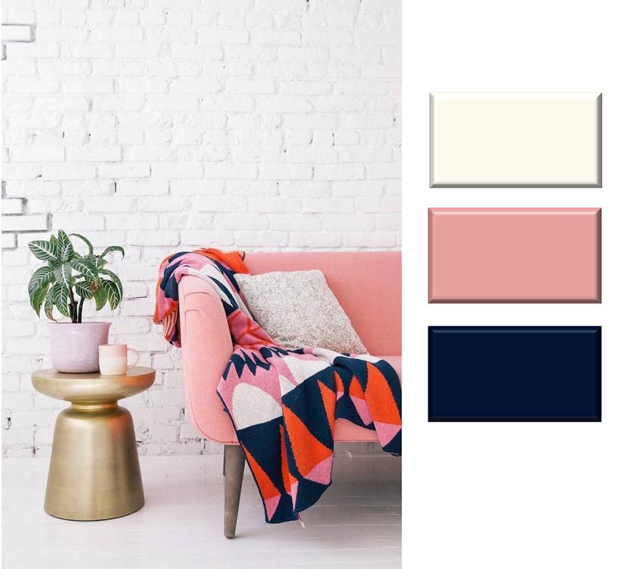 La regla 60/30/10 para combinar colores en decoración