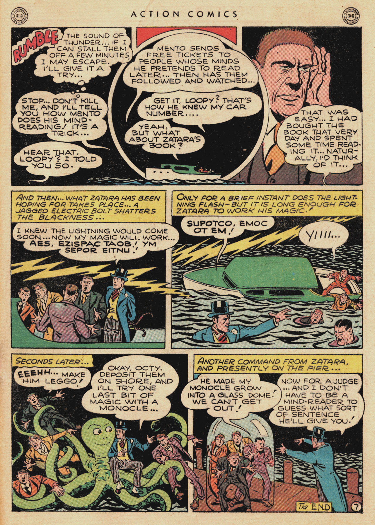 Read online Action Comics (1938) comic -  Issue #94 - 49