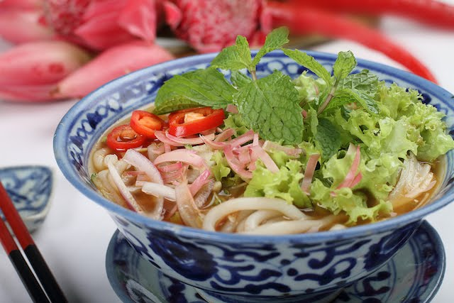 Another must try dish when you're visiting Penang, the Penang Assam Laksa