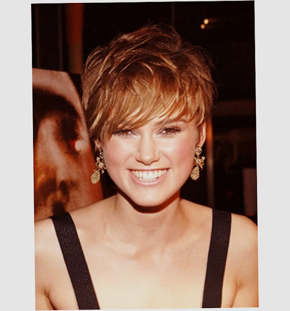 New and Best Short Hairstyles For Round Faces And Coarse Hair Photo