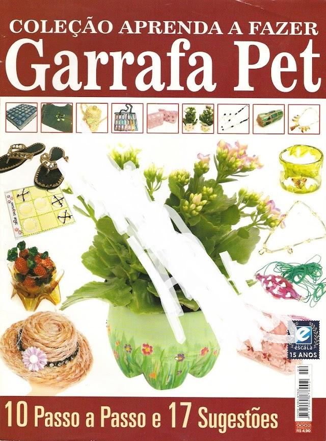 Coleção Aprenda A Fazer Arte Garrafa Pet