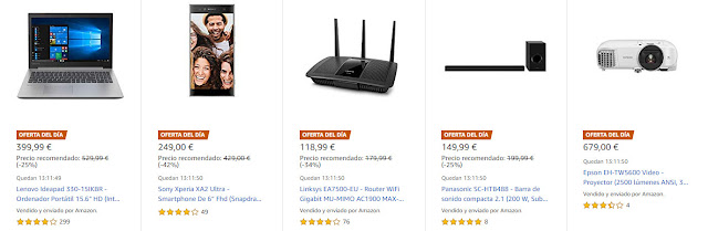 ofertas-03-06-amazon-6-ofertas-del-dia-y-4-ofertas-flash