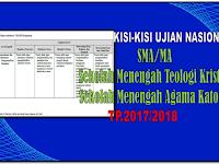 Kisi-Kisi Ujian Nasional SMA/MA Tahun pelajaran 2017/2018 format Pdf