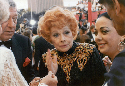 Lucille Ball's final appearance