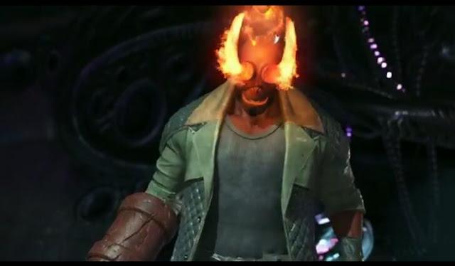 Third screenshot from Hellboy trailer~Injustice 2