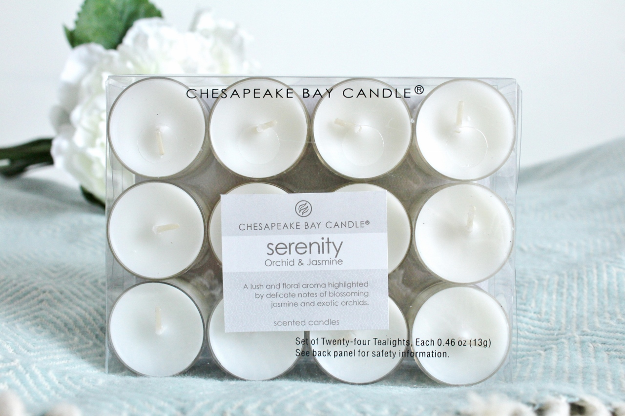 Chesapeake Bay Candle Tealights Giveaway