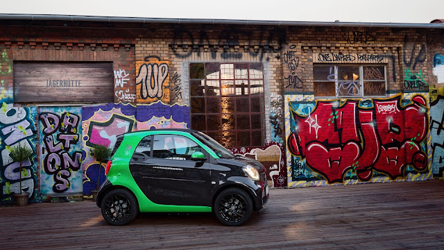 Versión coupé del Smart ForTwo Electric Drive