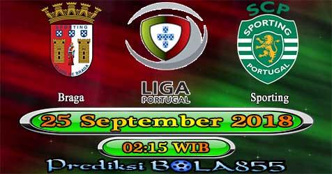 Prediksi Bola855 Braga vs Sporting 25 September 2018