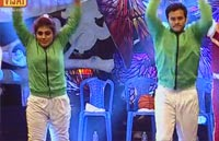 Manikandan and Soundharya are performing in Western Round