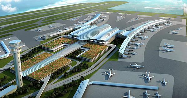 Bulacan International Airport in the Philippines
