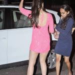 Alia bhatt In Hot Pink Dress