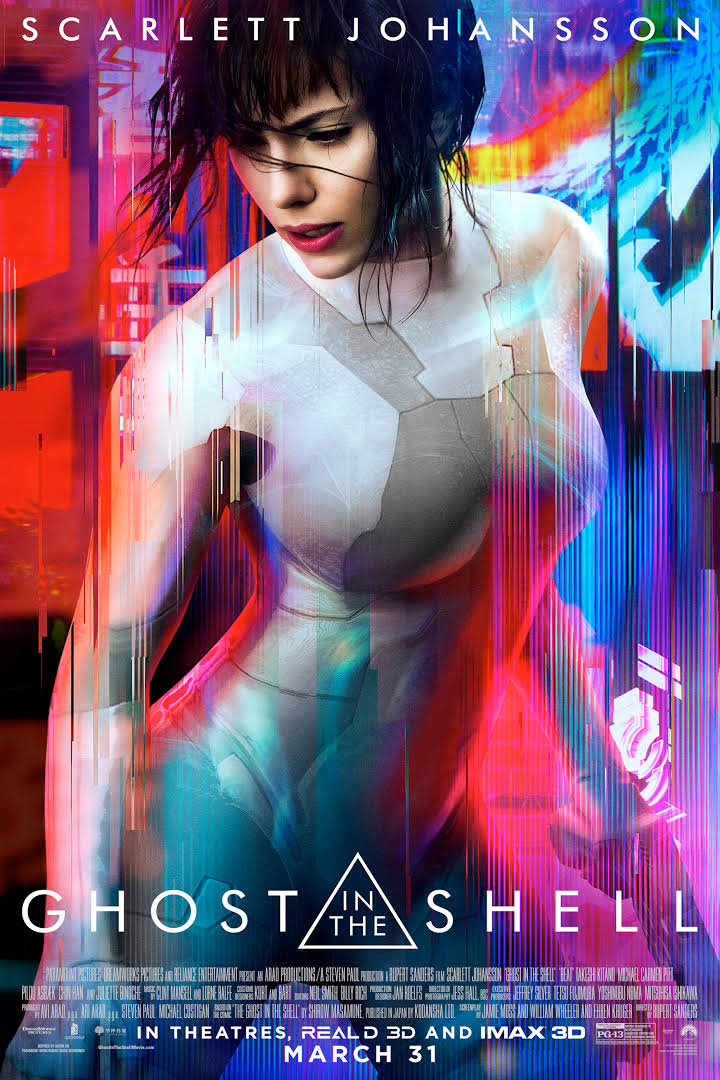 Ghost in the Shell (2017) Dual Audio 720p | 480p BluRay [Hindi + English] 800MB | 350MB Download