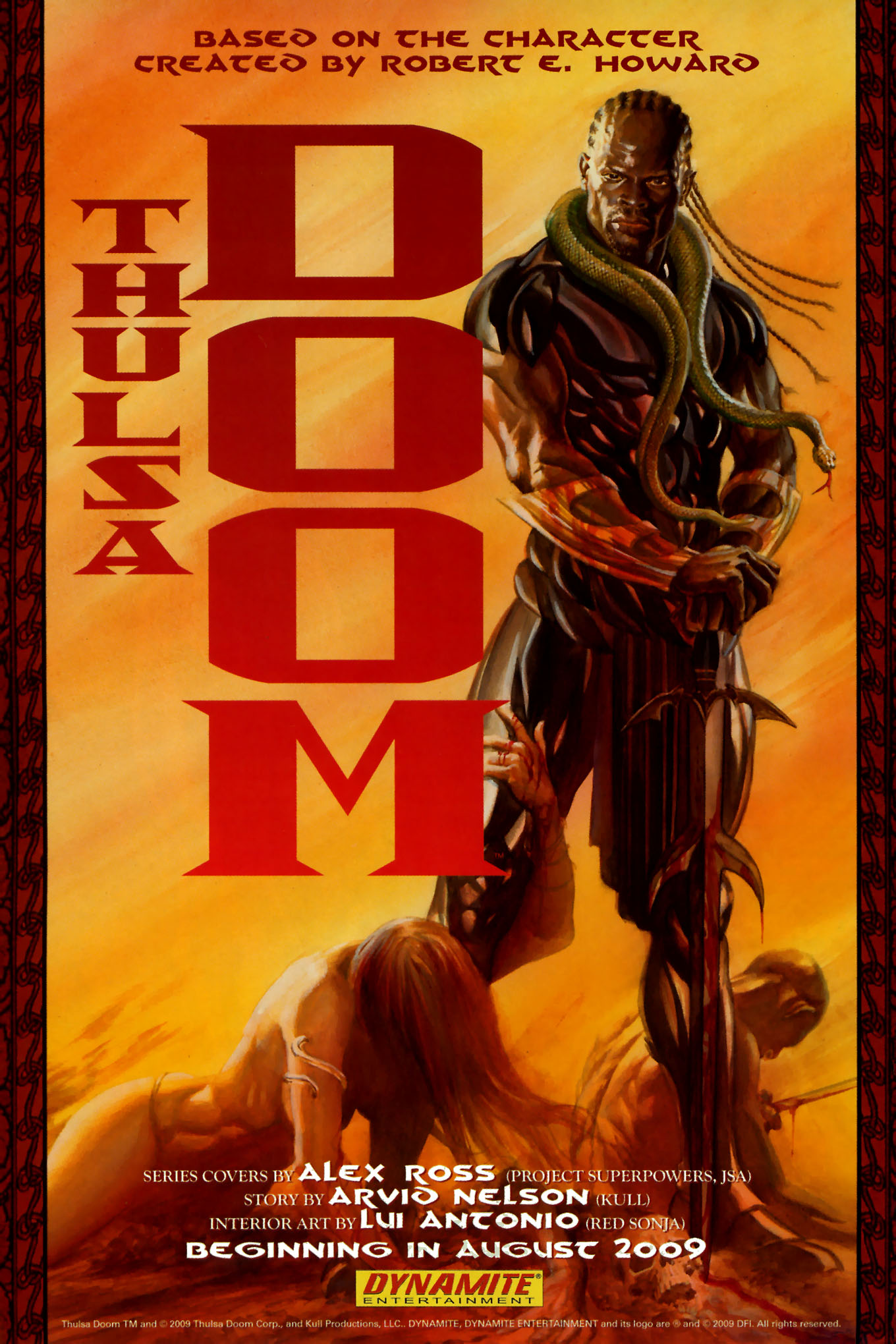 Read online Red Sonja (2005) comic -  Issue #45 - 12