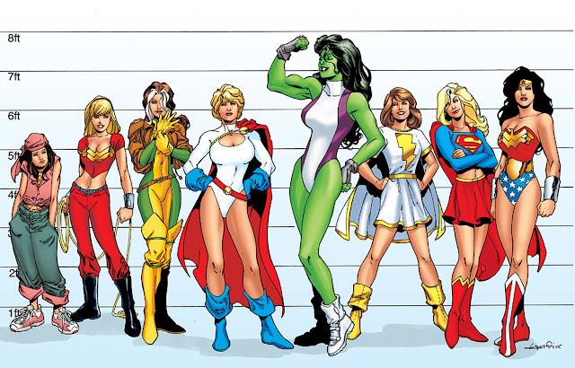 Resultado de imagen para superheroinas dc comics