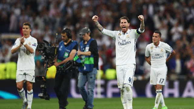 Ramos : Madrid Akan Mengukir Sejarah Pada Final Kali ini