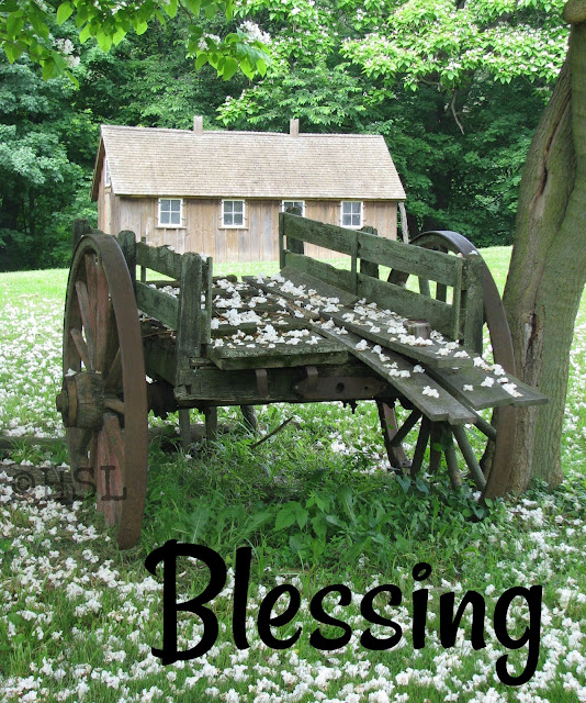 five minute friday writing prompt, blessing