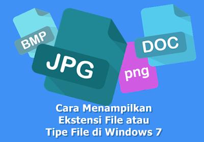 Cara Menampilkan Ekstensi File atau Tipe File di Windows 7