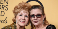 Debbie Reynolds and Carrie Fisher died in 2016