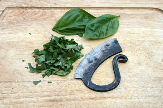 Herb Chopper - Hand Forged Kitchen Tools