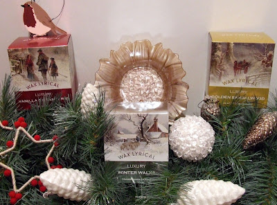 Luxury Christmas candles from Wax Lyrical