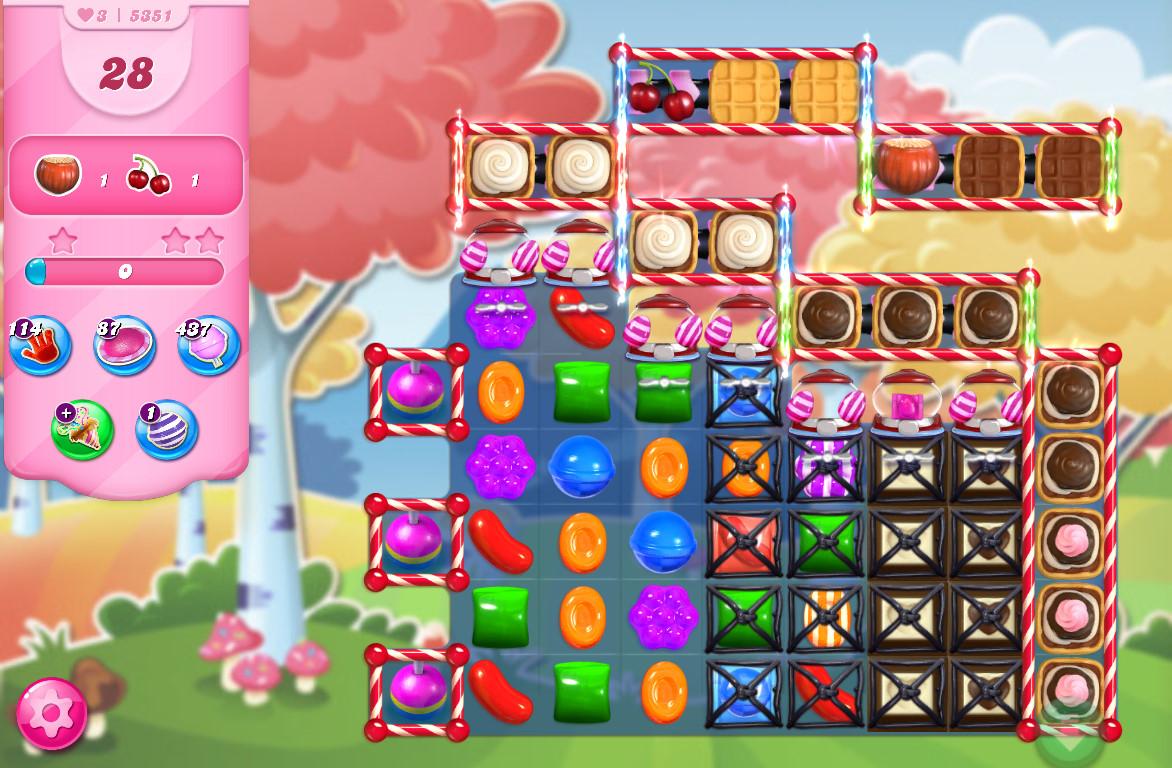 Candy Crush Saga level 5351
