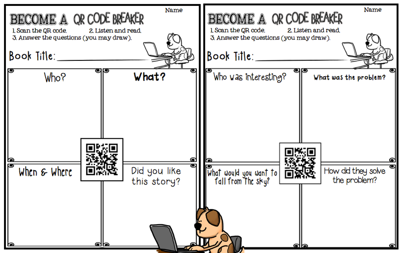 A Class Y Collaboration Qr Code Breaking Amp A Freebie