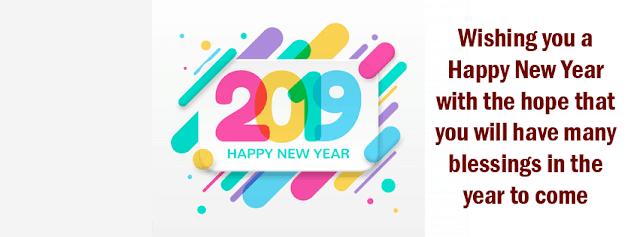 chúc mừng năm mới kèm lời chúc happy new year 2019 an lành
