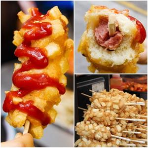 tokkebi hot dog jajanan kaki lima khas korea