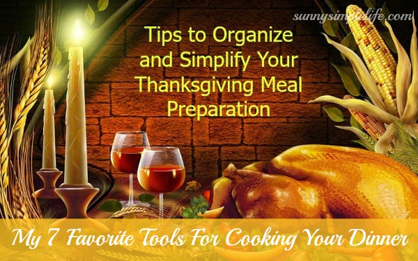 Thanksgiving prep, Thanksgiving meal