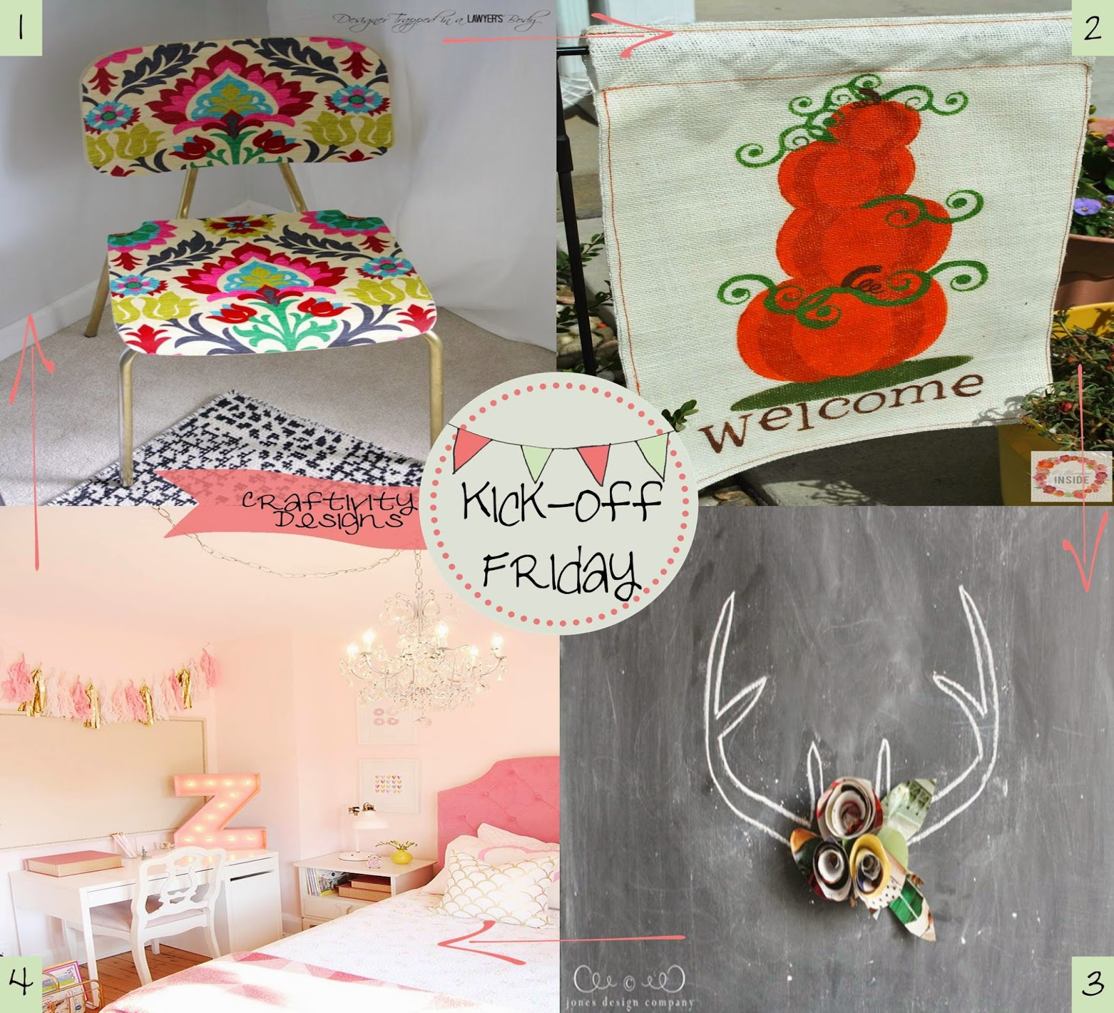 3 Great Swift Y And Thrifty Diy Decorating Ideas: Craftivity Designs: Kick-Off Friday