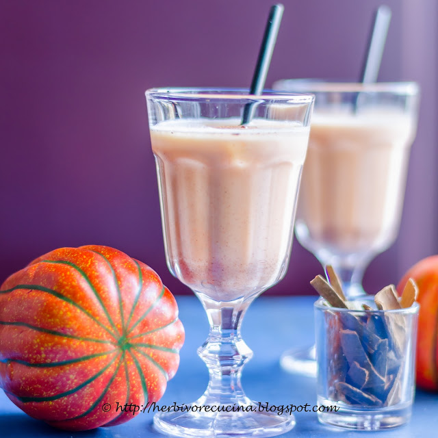 Most Popular of the Week // Pumpkin Pie Smoothie from Herbivore Cucina