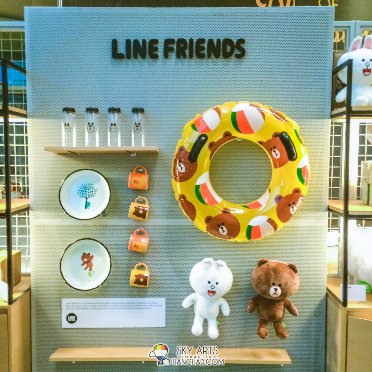 Cute float for your childrenat LINE Friends Pop-Up Store!!