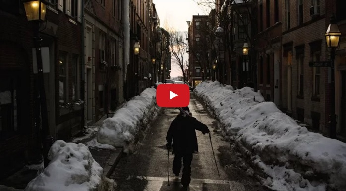These Skiers Turned The Streets Of Boston Into An Insane Ski Park.